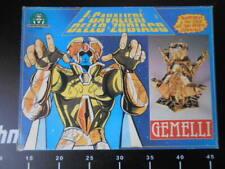 🎌 Saint Seiya Figure Cavalieri Zodiaco Gemini Prima Ed. Giochi Preziosi Vintage