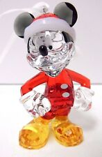 MICKEY MOUSE ORNAMENT DISNEY 2013 CHRISTMAS XMAS SWAROVSKI CRYSTAL #5004690