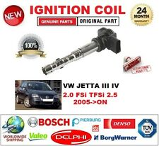 FOR VW JETTA III IV 2.0 FSi TFSi 2.5 2005-ON SINGLE IGNITION COIL 4 PIN D-SHAPE