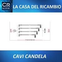 KIT CAVI CANDELA FIAT SEICENTO CINQUECENTO Mot. 900