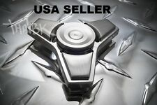 EDC Stainless Steel Metal Tri Spinner Fidget Toy US