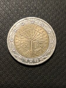 Rare pièce de monnaie de 2 euro France - 1999 -