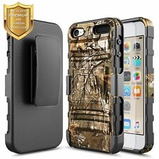 For iPod Touch 5th 6th 7th Gen Holster Case Shockproof Belt Clip Kickstand Cover