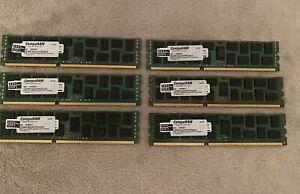 6x Samsung 8Gb 2rx pc3l-10600r-09-10-e1-d2 RAM Arbeitsspeicher