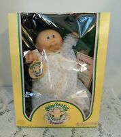 CABBAGE PATCH KIDS PREEMIE Girl Doll Marcie 1983 Coleco In Orig Box Vintage