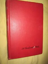 Daddy Long Legs by Jean Webster ~ A Thrushwood Book (Hardcover, Jacket, 1912)
