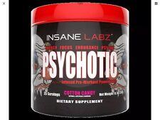 Insane Labz Psychotic Pre Workout Extreme Focus Veins Make Offer