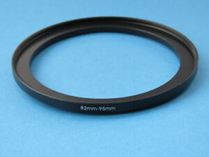 82mm to 95mm Step-Up Ring Camera Filter Adapter Ring 82mm-95mm
