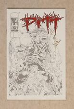 Pitt Deluxe Ashcan Edition #2A Olive Variant NM+ 9.6 1993