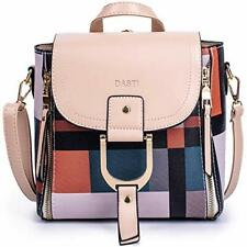 Convertible Backpack Purse Small Nylon Purse Womens Bags Back Pack Purse Beige
