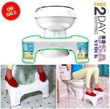 Toilet Squatty Step Stool Bathroom Potty Squat Aid For Constipation Relief