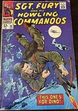 Sgt Fury And His Howling Commandos Lot #38 & #47 Marvel Comic Book 1967