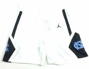 New Nike Jordan North Carolina Basketball Active Short Women's M White AT0542