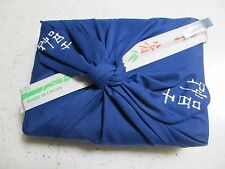 """Wedding Invitation"" blue  BENTO BOX SET Japanese Furoshiki boxes JAPAN obento"