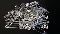 METAL BIG SAFETY PINS SILVER SEWING COSTUME CRAFT DRESS MAKING TOP QUALITY