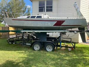 1986 Kirby 23' Sailboat & Trailer - Texas