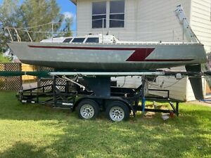 1986 Kirby 23' Sailboat & Trailer - Texas
