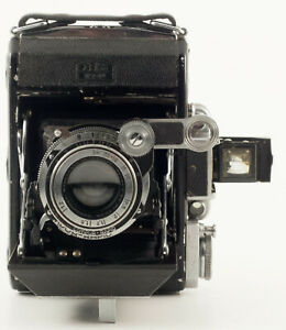 ZEISS SUPER IKONTA 531, 120 FILM CAMERA WITH XENAR 7.5cm F3.5
