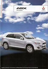 Prospekt / Brochure Mitsubishi ASX Intro Edition 10/2012