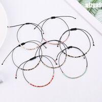 Crystal Mix Seed Beads Bracelet Friendship Cuff Bracelets Charm Bangles Jewelry