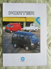 OPUSCOLO CAMION PIAGGIO – Porter – anni '90