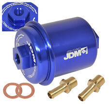 UNIVERSAL PERFORMANCE RACING FUEL FILTER 200PSI TURBO SUPER CHARGER N/A BLUE