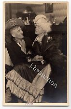 Travesty FAKE COUPLE Queer FALSCHES PAAR Travestie * Vintage Photo PC 1933