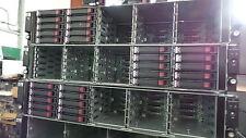 Arreglo de discos HP StorageWorks D2700 25 X AJ941A SFF + Kit de carril - 10 caddies + Tornillo
