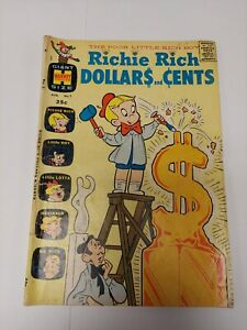 Richie Rich ~ Dollars and Cents #1 ~ Harvey 1963