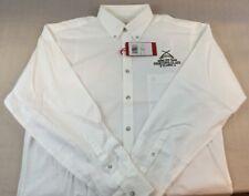 New SOUTHERN PROPER Mens White WEEKENDER M Medium Casual Shirt Long Sleeve