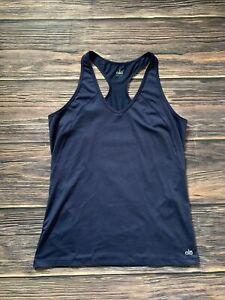 Women's Alo Yoga Blue Tank Top Pullover Yoga Shirt Size Large NICE