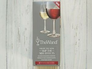 The Wand Wine Filter 8 Pack Alleviates Headaches Congestion Removes Sulfites New