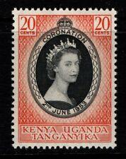 Kenya Uganda Tanganyika KUT 1953 Coronation SG165 Mint MH
