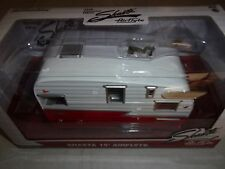 1/24 CARAVANE SHASTA 15FT AIRFLYTE CARAVANE ROUGE/BLANC-GREENLIGHT18225