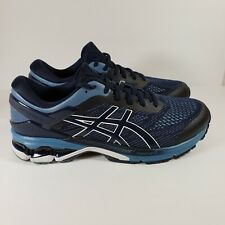 Men's Asics Gel Kayano 26 Size 11.5 Wide Midnight Blue EUC!!