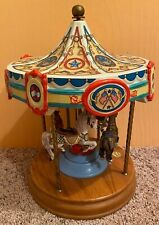 4 Horse American Carousel by Tobin Fraley Limited Edition Not Working