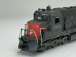 HO Scale Athearn Southern Pacific SD45 Locomotive Super Detailed Wthrd DC IC157