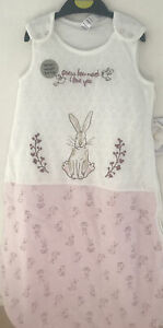 Guess How Much I Love You - Sleeping Bag 6-12 Months 2.5 Tog In Pink & Cream