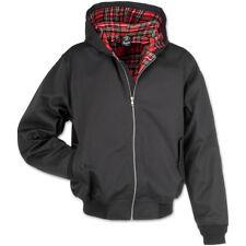 Brandit chaqueta de hombre 3112 Lord Canterbury capucha negro (2) m