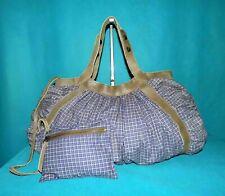 sac SESSUN en tissus et cuir porté main ou épaule format A4