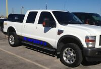 Factory Style Fender Flares for 08 09 10 FORD F250 F350 SUPER DUTY FINE GRAINED