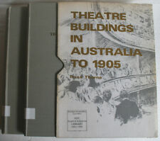 Theatre Buildings in Australia to 1905 Vol 1 & 2 by Ross Thorne (1971) Hardcover