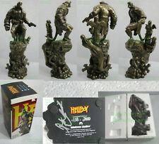VHTF New In Box HELLBOY Statue Bronze Variant Mindzeye Studios Ltd 200 BIG PICS