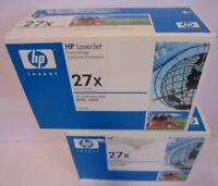 2x HP C4127X  27X  Toner f. Hewlett Packard Laserjet 4000 4050 NEU & OVP