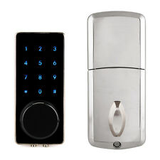 TIVDIO Smart Locks Bluetooth Enabled Keyless Home Entry Use Smartphone NEW