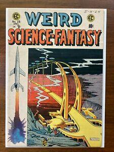 Weird Science-Fantasy (1954 E.C. Comics) #28