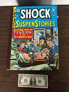 1981 EC Comics Library Shock SuspenStories Box Set Volumes 1-3 & Slipcase
