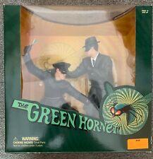 (1999) MEDICOM Green Hornet & Kato PVC Statue Figure Set! Bruce Lee Van Williams