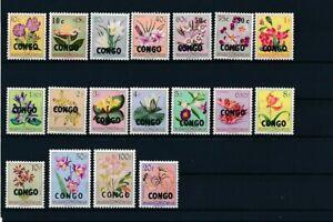 D162630 Congo MNH Flowers
