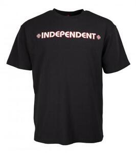 INDEPENDENT TRUCK CO BAR CROSS S/S T- SHIRT BLACK